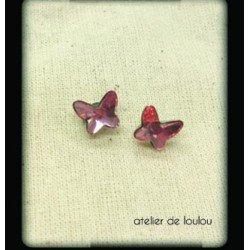 clou swarovski papillon