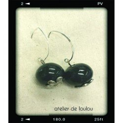 réparation bijou fantaisie | boucle noir