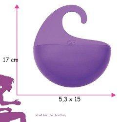 support savon | ustensile salle douche