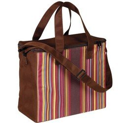 sac isotherme multicolore | sac isotherme | sac marron