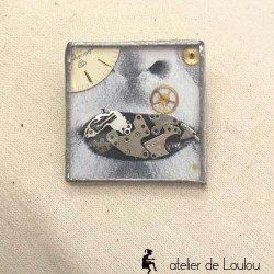 broche vintage | broche montre