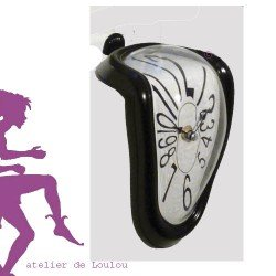horloge dali | montre molle | horloge molle