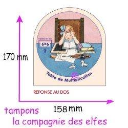 carte disque multiplications