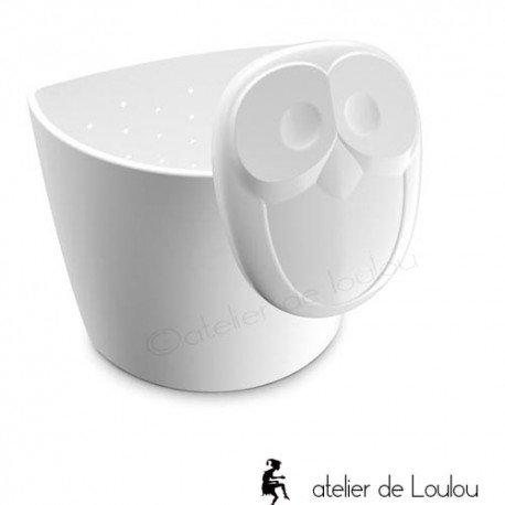 passoire th chouette atelier de loulou. Black Bedroom Furniture Sets. Home Design Ideas