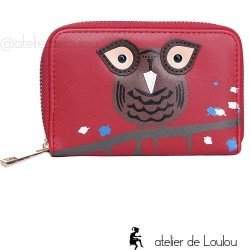 owl wallet | portefeuille chouette | porte monnaie hibou