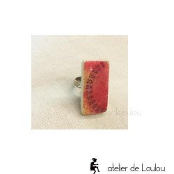 Bague lutin | bague réglable| elf ring | bague jeu domino