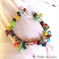 bracelet perle | bracelet pas cher | bracelet multicolore | achat bracelet