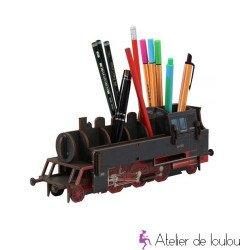werkhaus locomotive | train en bois | train crayons