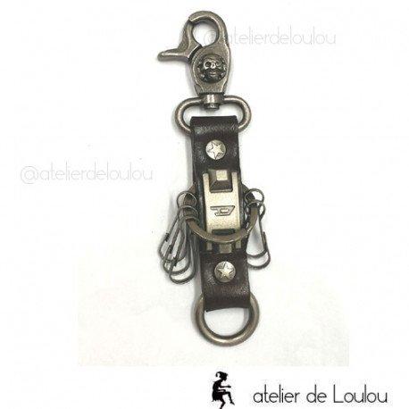 Porte clé homme | acheter porte clé cuir
