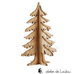 acheter déco de noel | wood christmas tree
