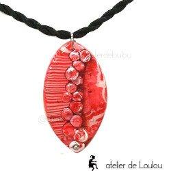 collier artisanal | collier fimo