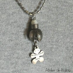 pendentif fifi ferraille | collier fifi feraille | fif ferraille