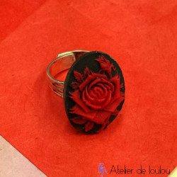 Acheter bague rose
