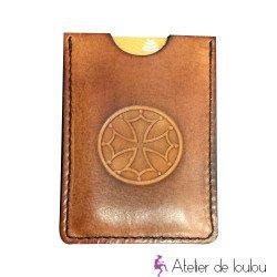 Acheter porte carte cuir