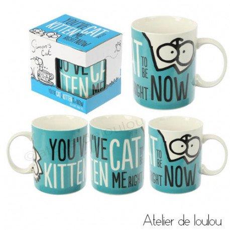acheter mug simon's cat
