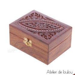 acheter boite rangement en bois