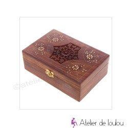acheter boite bois exotique