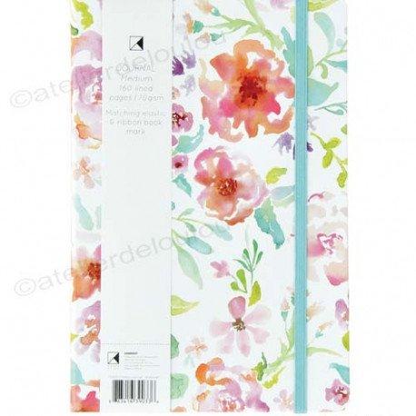 carnet fleurs | notebook |journal intime