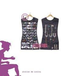 acheter robe porte bijoux noire