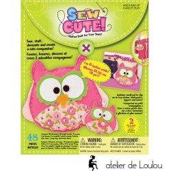 acheter kit couture enfant | kit couture hibou