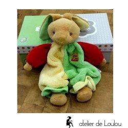 Cadeau naissance lapin | lapin doudou