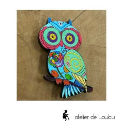 broche chouette   owl brooch   broche hibou