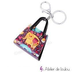 Porte clé éléphant