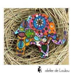 Achat bijou elephant   elefant brooch