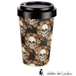 acheter mug bambou   mug crânes