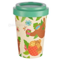 acheter mug bambou   mug paresseux