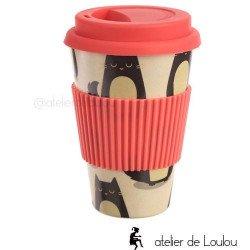 acheter mug bambou   mug bamboo cat
