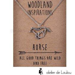 collier cheval   achat bijou cheval