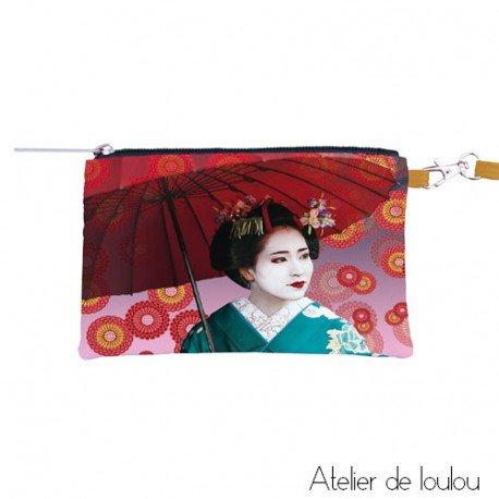 Pochette japon | pochette teo jasmin