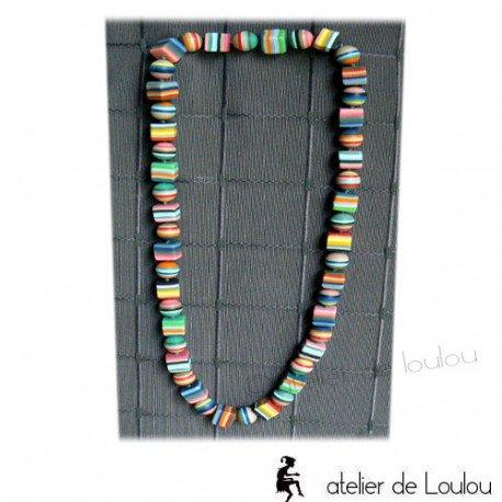 Acheter collier perles