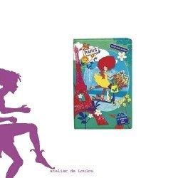 carnet PARIS LETTERBOX | carnet voyage | carnet de note