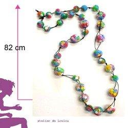 achat collier multicolore | collier bonbon
