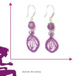 Achat bijou violet
