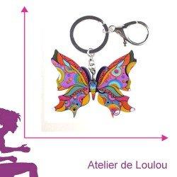 porte clé papillon | acheter porte clé