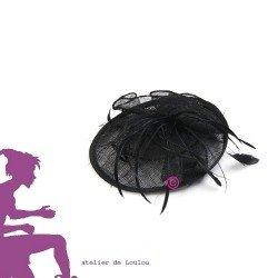 chapeau bibi plume | chapeau maman mariage | chapeau mariage
